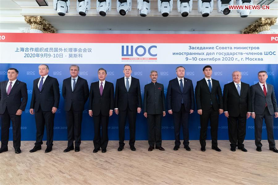 RUSSIA-MOSCOW-SCO COUNCIL OF FOREIGN MINISTERS-MEETING-CHINA-WANG YI