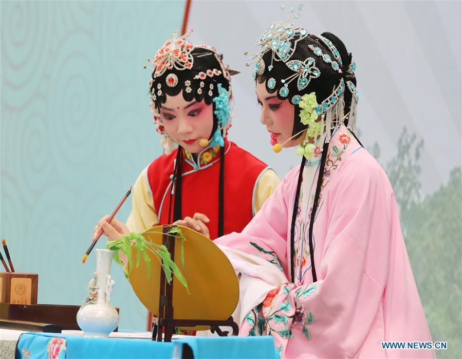 #CHINA-JIANGSU-SUZHOU-KUNQU-YOUNG CONTESTANTS (CN)