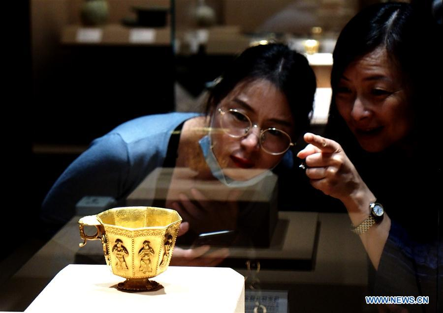 Exhibition of Baoli Era: Treasures From the Tang Shipwreck Collection held in Shanghai