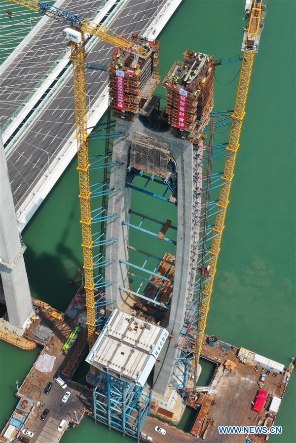 CHINA-FUJIAN-CROSS-SEA BRIDGE-CONSTRUCTION (CN)