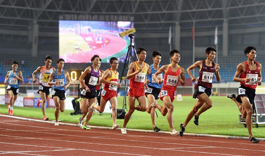 (SP)CHINA-SHAOXING-ATHLETICS-2020 CHINESE NATIONAL CHAMPIONSHIPS-MEN'S 1500M (CN)