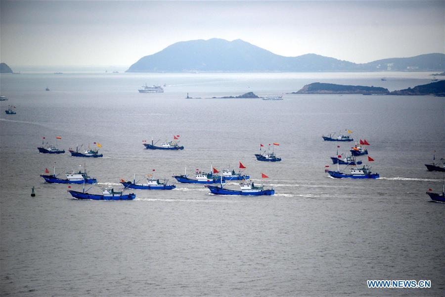 #CHINA-EAST CHINA SEA-FISHING SEASON(CN)