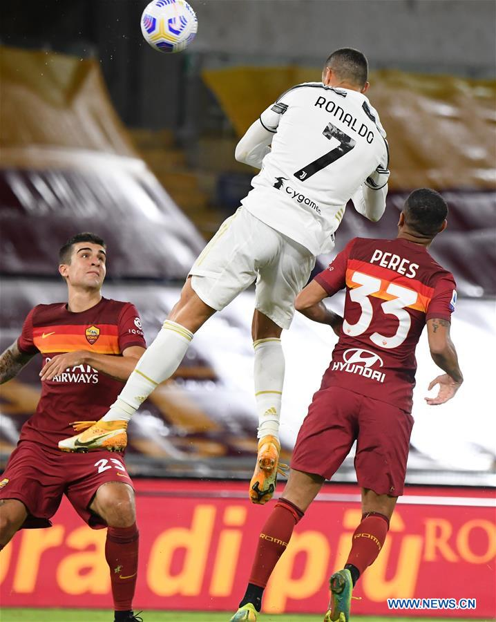 (SP)ITALY-ROME-SERIE A-ROMA VS JUVENTUS
