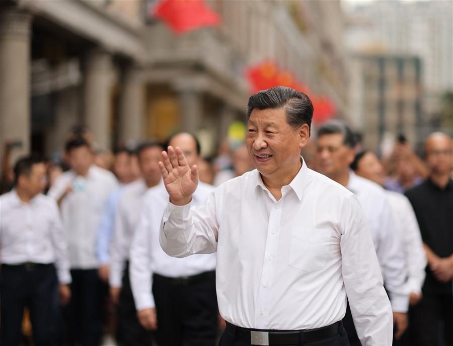 CHINA-GUANGDONG-SHANTOU-XI JINPING-INSPECTION (CN)