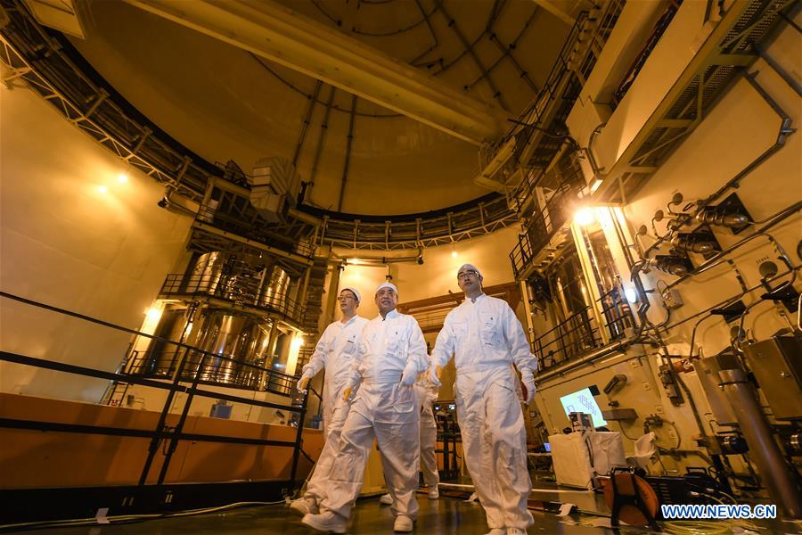 Professional team maintain Shenzhen's nuclear power plant