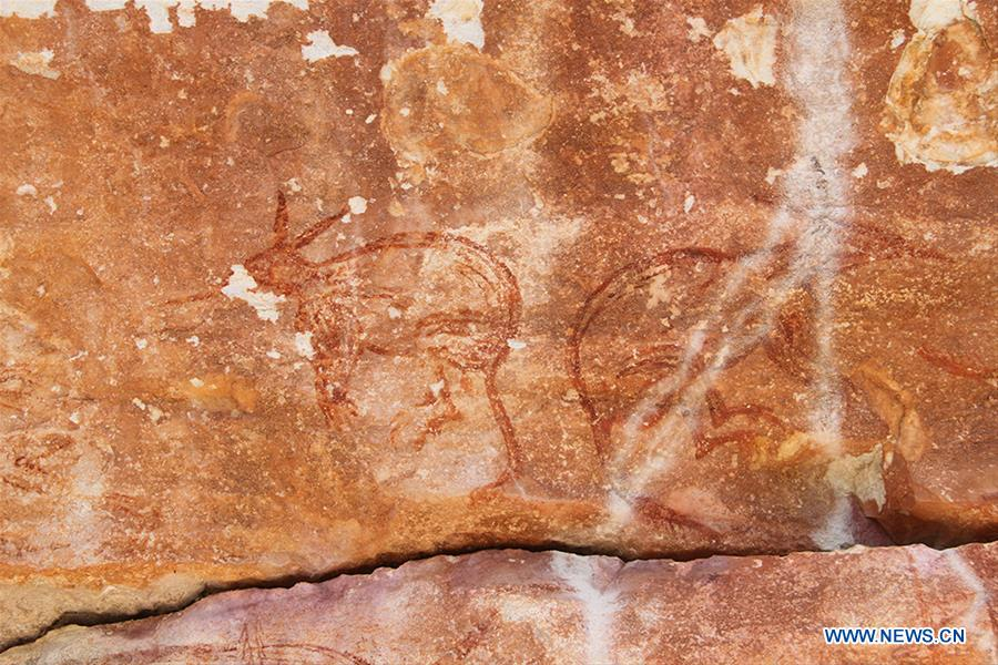AUSTRALIA-AWUNBARNA-CAVE ART