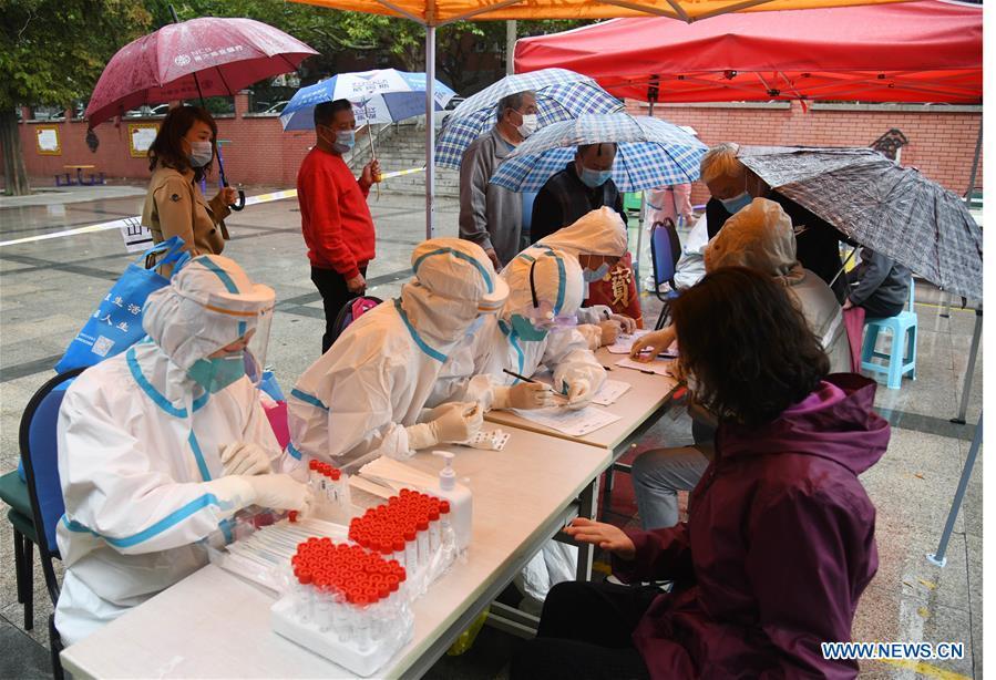 CHINA-SHANDONG-QINGDAO-COVID-19-TEST (CN)