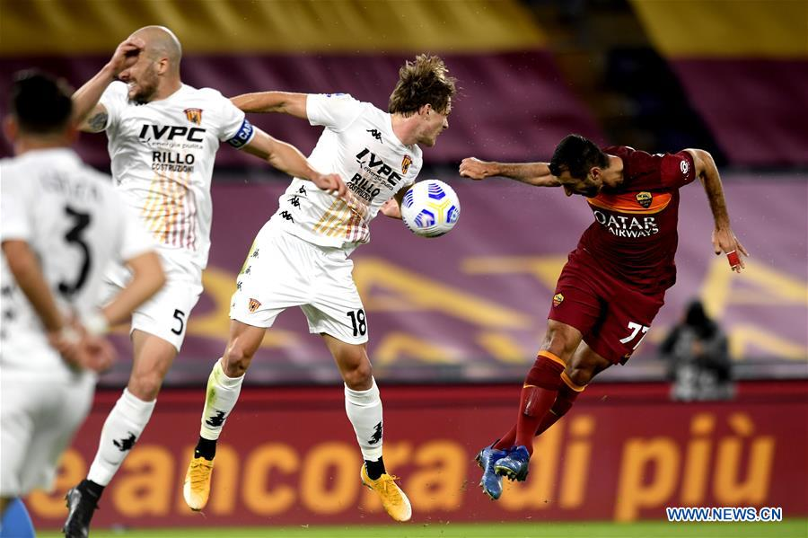 (SP)ITALY-ROME-FOOTBALL-SERIE A-ROMA VS BENEVENTO
