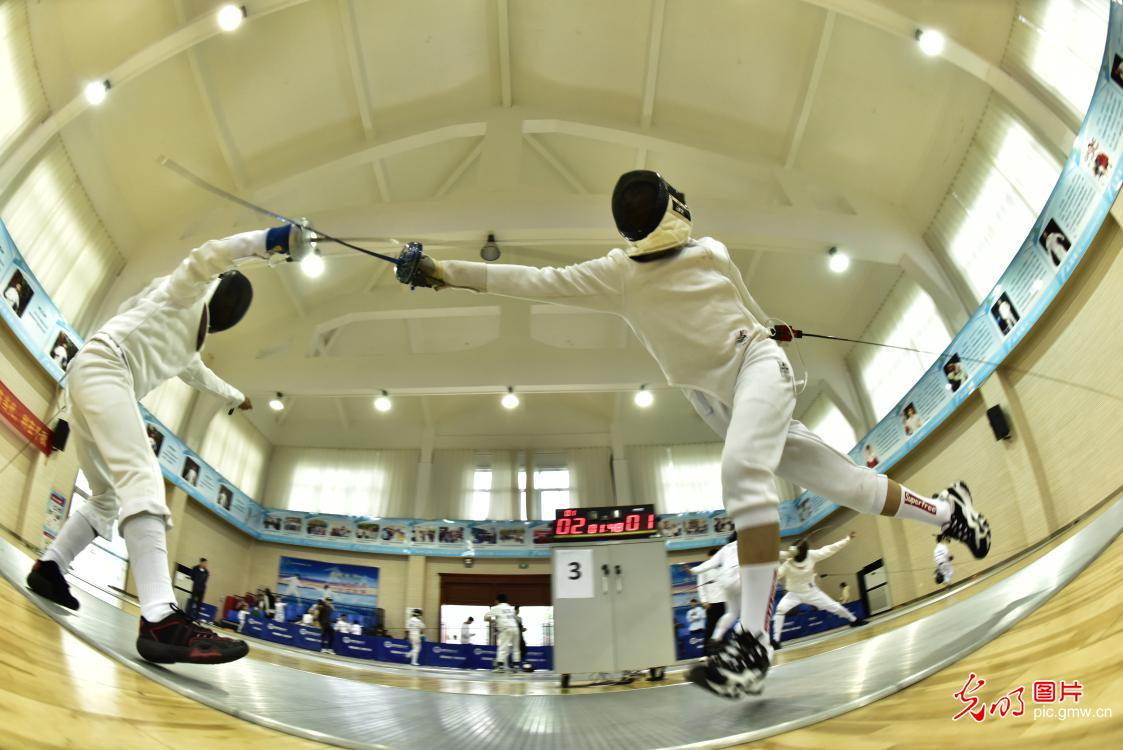 The 1st Youth Fencing Competition in E China's Anhui Province