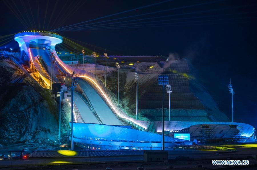 National Ski Jumping Center in Zhangjiakou, Hebei