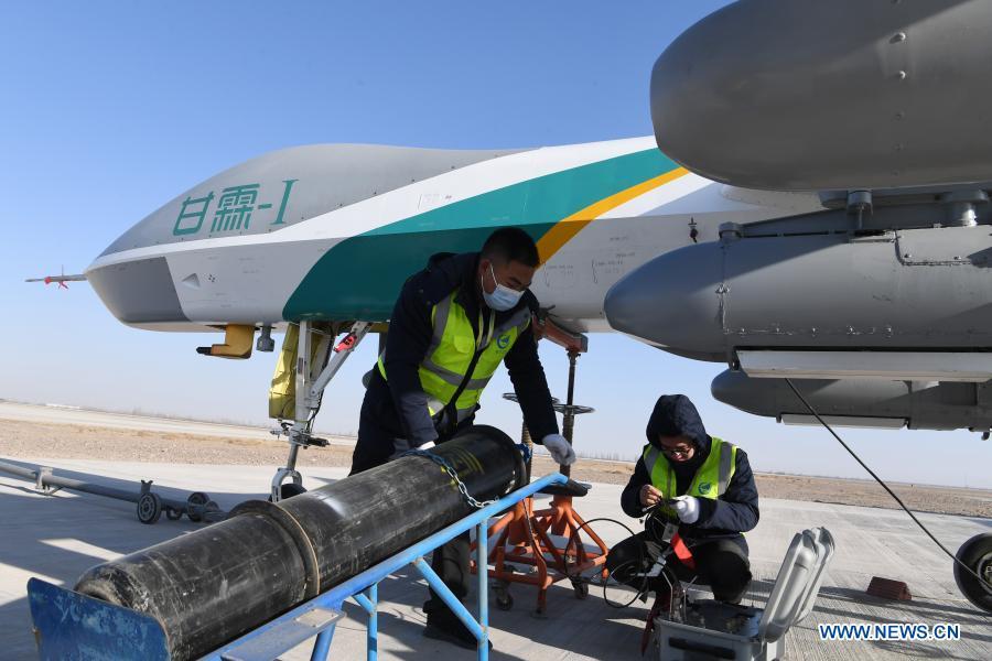 China deploys large UAV for ecological protection