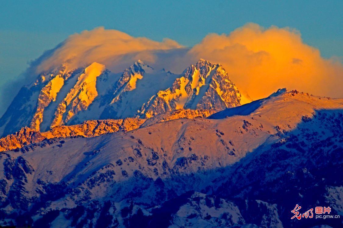 雪后景色美
