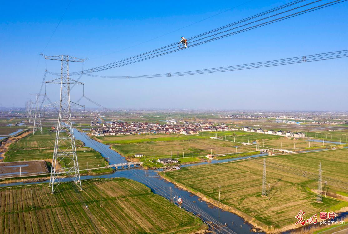 江苏泰州:集中春检确保华东电网可靠供电