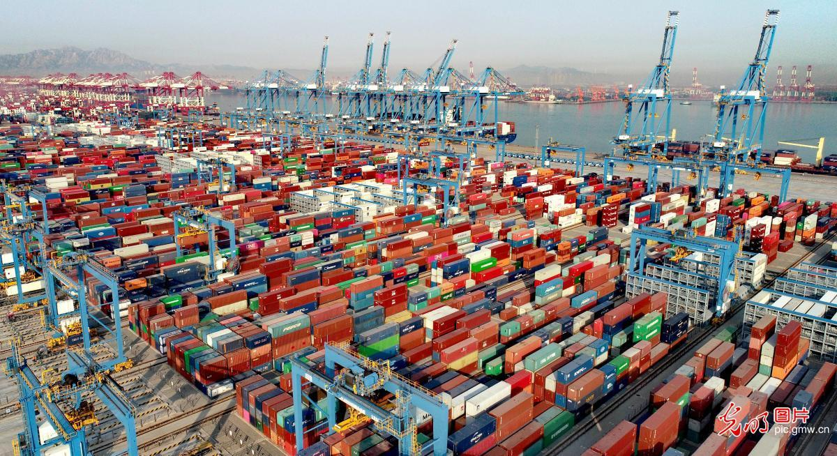 山东港口一季度完成货物吞吐量3.7亿吨
