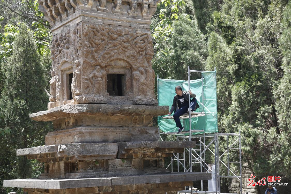 Cultural relics protection in E China's Shandong Province