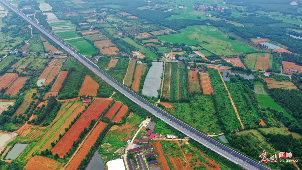 江西泰和:高速公路助振兴