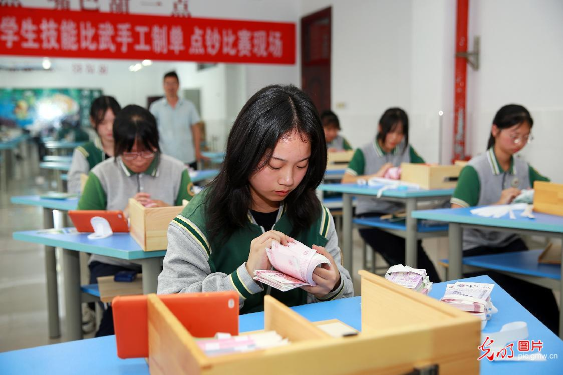 Vocational skills competition held in SE China's Zhejiang