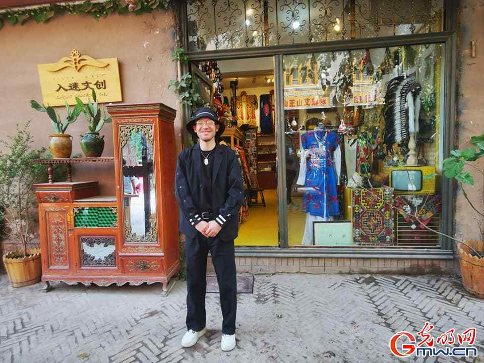 In pics: Mewlan Turaq, a young enterpreneur who opened his own shop in the Ancient City of Kashgar
