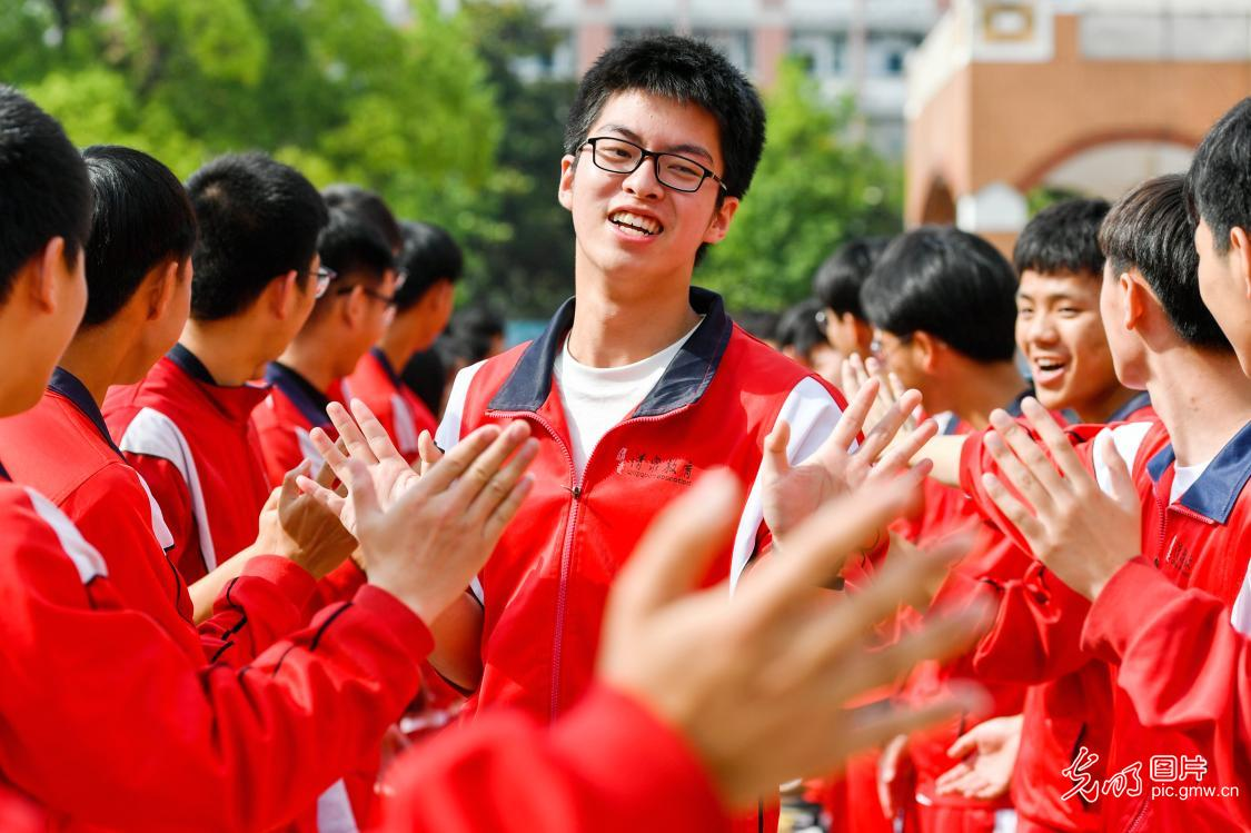 In pics: 2021 China's national college entrance examination