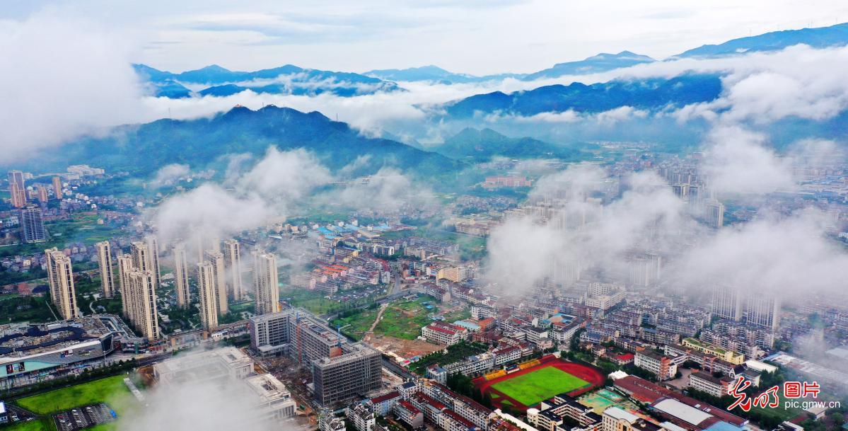 Summer scenery in Xianju, E China's Zhejiang