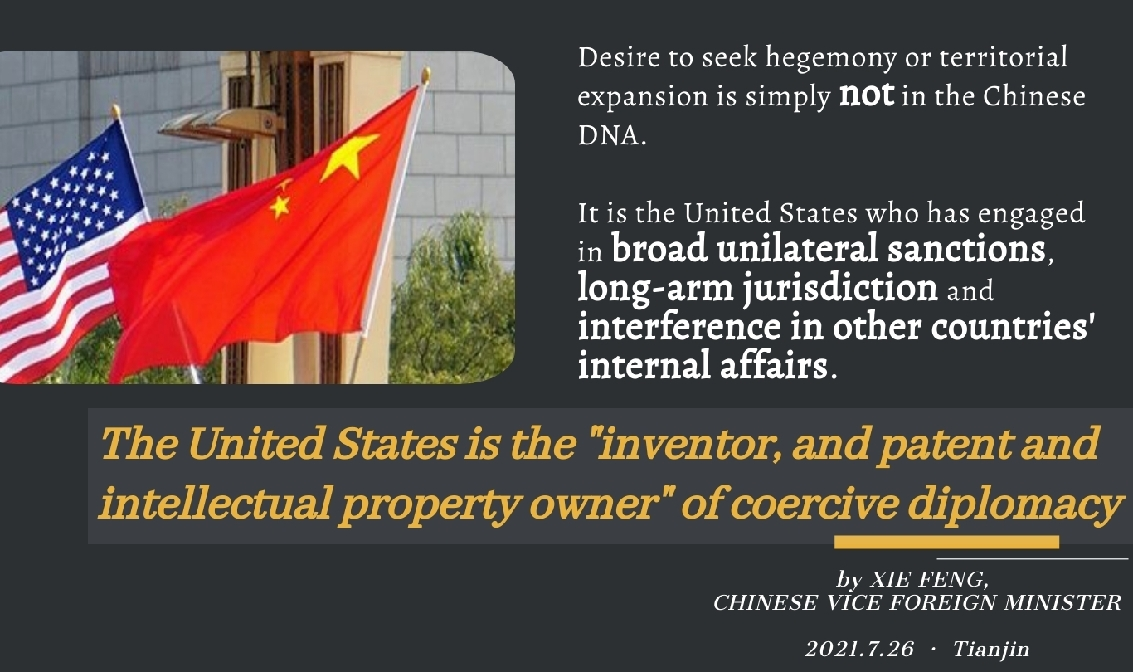 The competitive, collaborative and adversarial rhetoric is a thinly veiled attempt to contain and suppress China