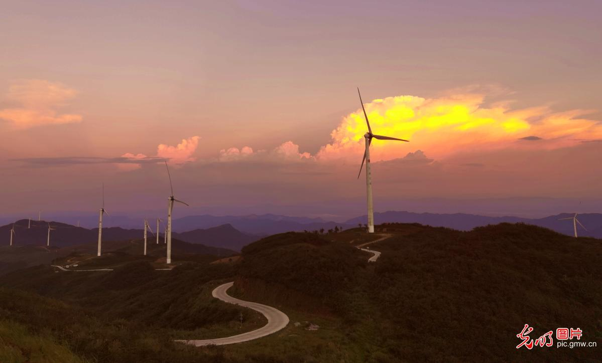 Wind power industry developed in central China's Hunan Province