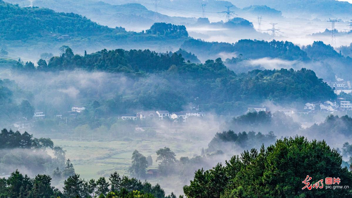 """重庆南川:绿色生态家园赛""""仙居"""""""