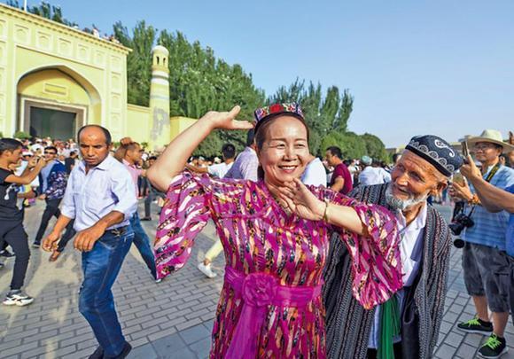 Human rights progress in Xinjiang crush all lies