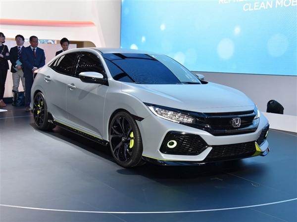 (盖世汽车)      2017款本田思域欧洲版将于9月底全球首发,亮相巴黎
