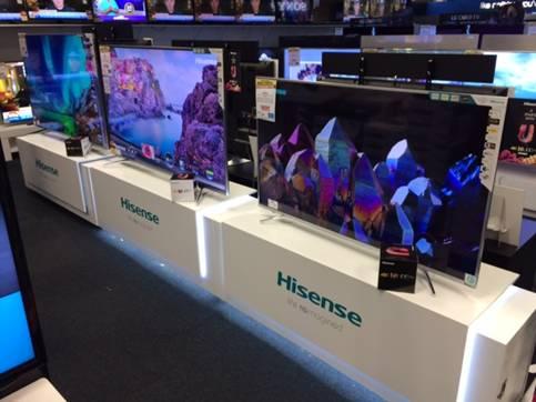 海信电视登顶澳洲、南非 成中国品牌海外发展样本