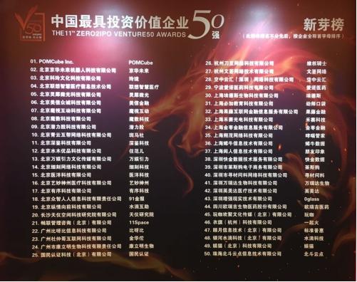 """""""水滴互助""""入选""""中国最具投资价值企业新芽榜50强"""""""
