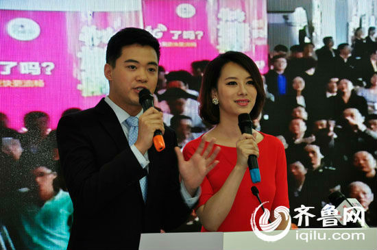 直播报道,齐鲁电视台通过4g即摄即传技术将济南泉城广场采访