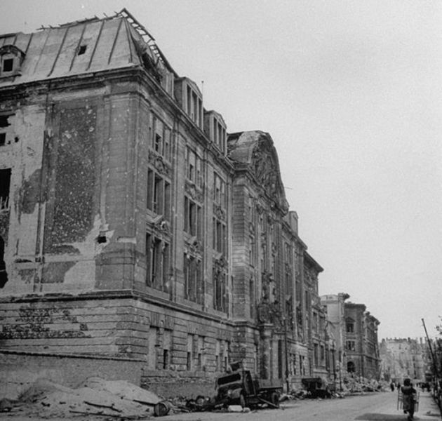 二战后经历战争的柏林图片