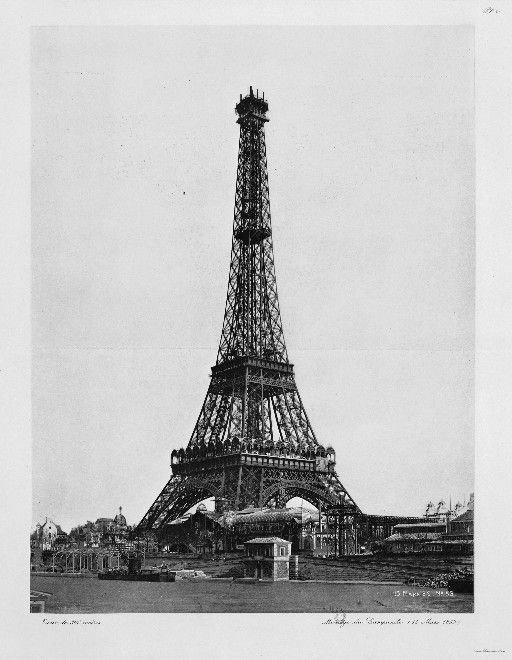 埃菲尔铁塔的建造过程