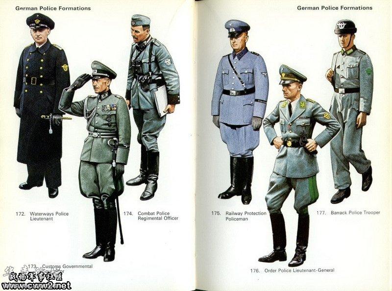 二战时期纳粹德国的军服大全