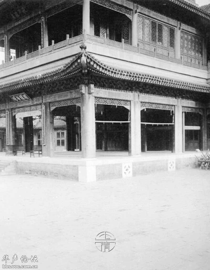雍和宫平面图