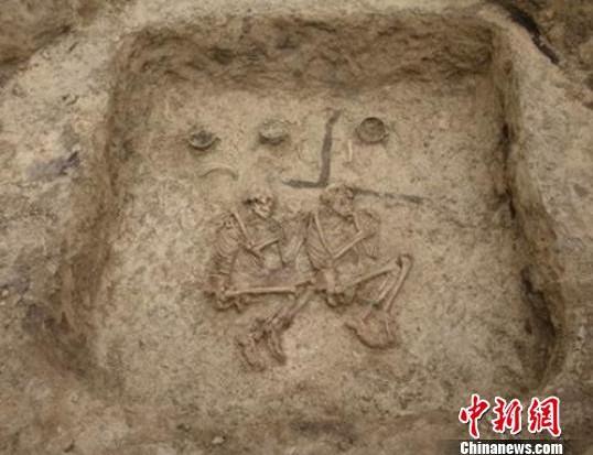 唐代土坑古墓结构图片