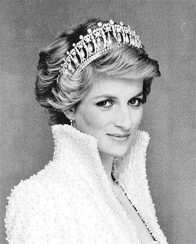戴安娜王妃生前迷人照