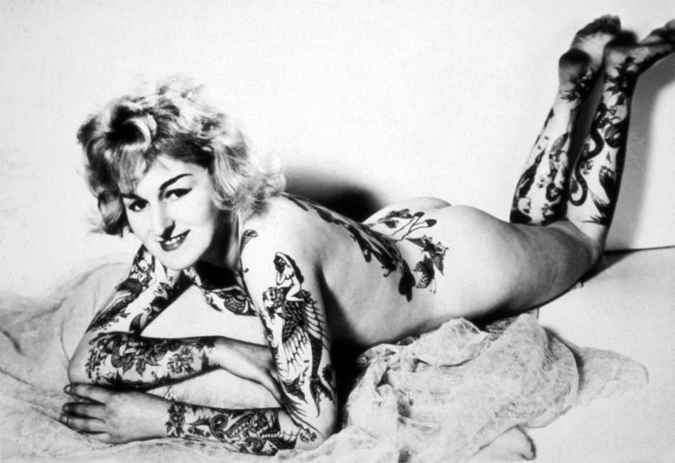 图说世界最早一批纹身的女人【高清组图】