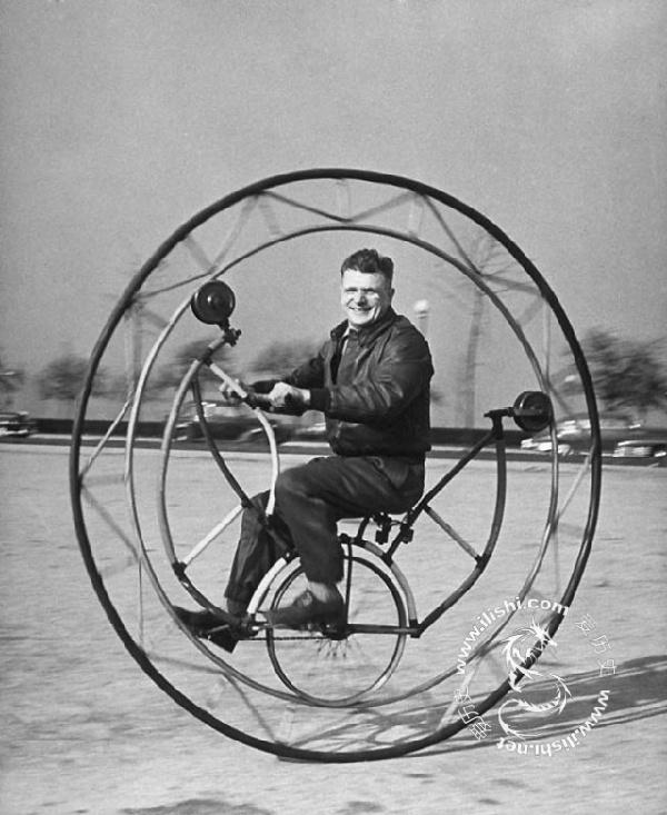 上世纪怪异的自行车们