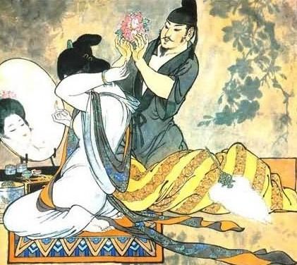 中国古代四大美女情史秘闻(1)_历史·映像_光明网