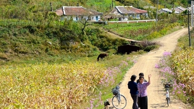 罕见照片揭秘朝鲜人的真实生活(7)_环球风云 _