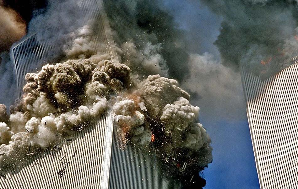 美国911飞机撞大楼高清视频,封存15年,终于解封了
