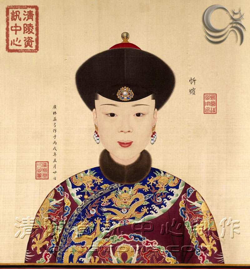 乾隆皇帝绝色后妃真实画像 哪一个最美图片