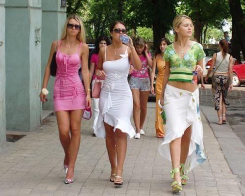 乌克兰美女成灾 全球10大美女城市居首