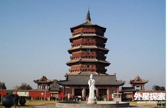 揭中国古代十大名塔(5)