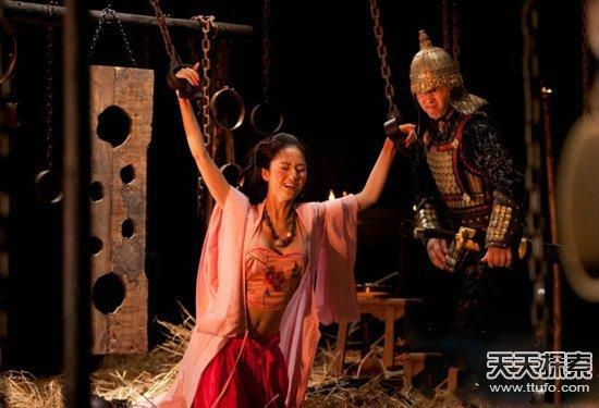 中国女犯人-古代女囚下场悲惨-史上骇人真相 潘金莲身世惊人图片