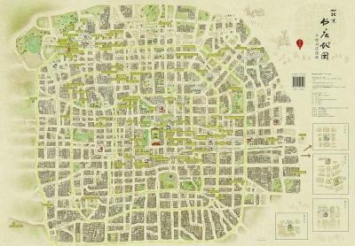 手绘北京书店地图出炉 策划者:没必要渲染悲情