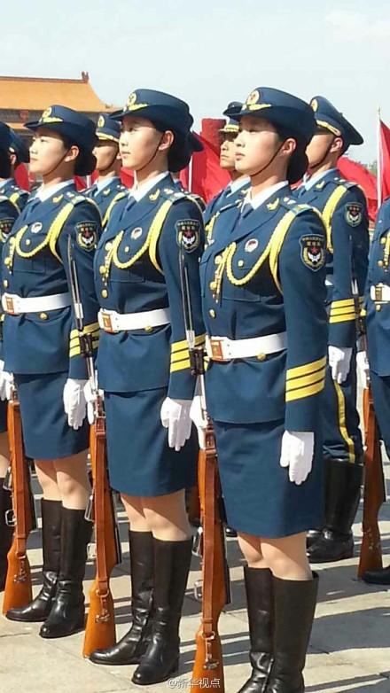 中国仪仗队女兵图片_喝小酒的网摘 Emma Stone