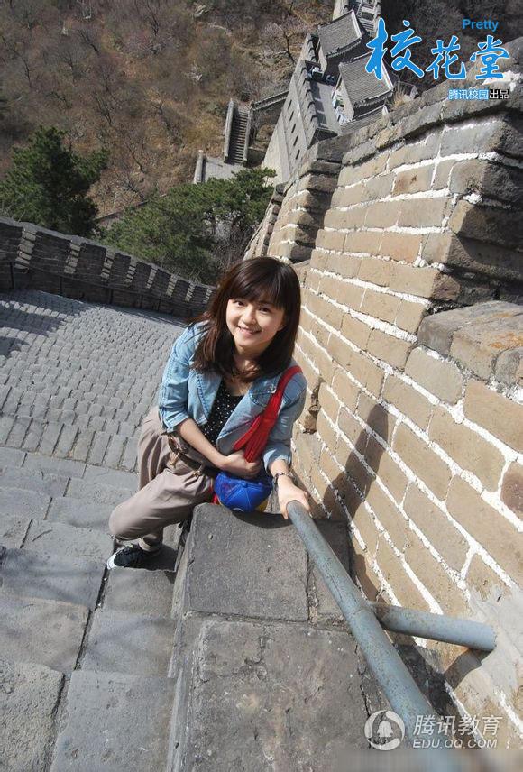 北大校花清秀可爱 才女学霸变身人气女神-杭州生活帮